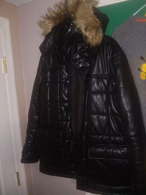 Zara Leather Coat for Sale in Chevy Chase, DC