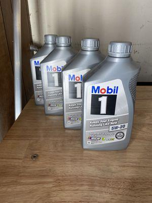 Mobil 1 motor oil for Sale in Spring Valley, CA