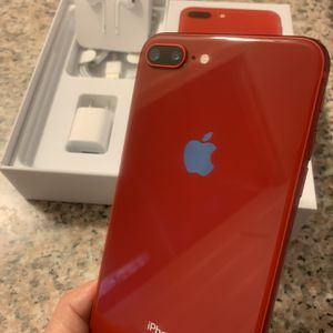 iPhone 8 Plus Red 256gb Unlocked For Any Carriers (Liberado para Cualquier Compania ) for Sale in Montebello, CA