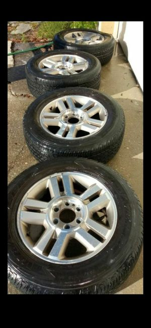 4 Rims & 3 Tires for Sale in Kissimmee, FL