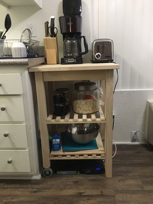 Kitchen hardwood caddy for Sale in Los Angeles, CA