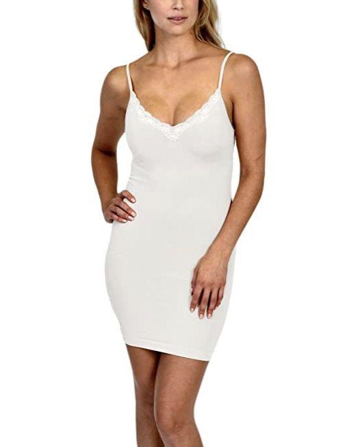 New Patricia seamless shape-wear full slip - L