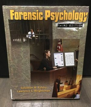 Forensic Psychology Textbook for Sale in Winter Garden, FL