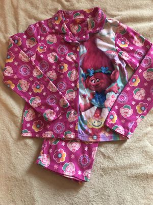 Girls troll Pajamas for Sale in St. Charles, IL