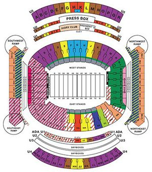 2 alabama season ticket. 7 home games for Sale in Powder Springs, GA