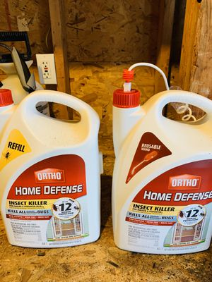 Free Home defense, Roundup and Prestone coolant for Sale in Dracut, MA