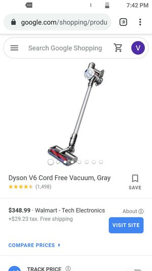 Dyson v6 cordless handheld vacuum for Sale in Las Vegas, NV