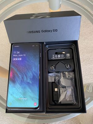 NEW 128GB Samsung Galaxy S10 Unlock with Samsung warranty until next year for Sale in Glenview, IL