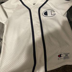 Champion baseball jersey for Sale in Oceanside, CA