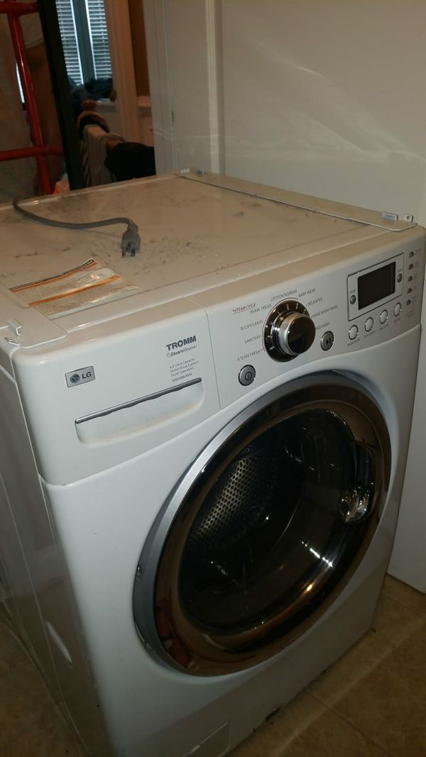 Electric dryer and washer LG