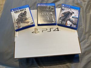 ps4 brand new in box 3 games for Sale in Hialeah, FL