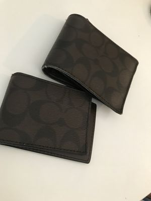Men's Coach Wallet and Coin/ID holder for Sale in Houston, TX