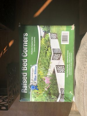 Raised flower bed corners for Sale in Bendena, KS