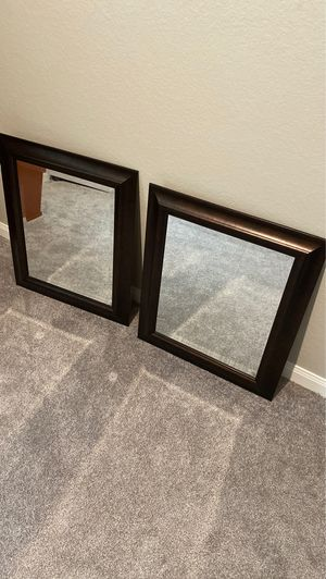 Double very nice wall hanging mirrors - like new for Sale in Magnolia, TX