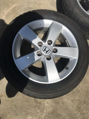 16 inch Honda wheels new tires for Sale in Raleigh, NC