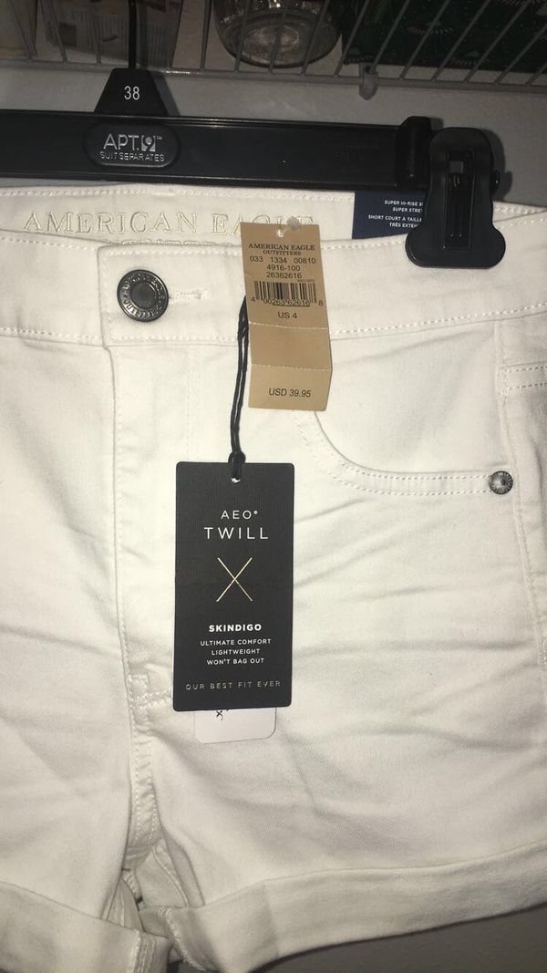 Brand new with tags American eagle white shorts
