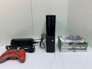 Microsoft Xbox 360 Model 1538 E Edition Black Console W/ Controller Games Bundle for Sale in Pelham, NH