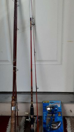 Fishing pole with reel for Sale in Carmichael,  CA