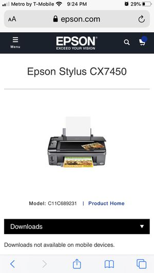 Epson All-in- one printer scanner copier for Sale in West Palm Beach, FL