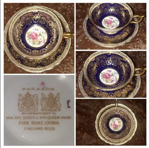Antique Fine China appointed by Queen Mary of England for Sale in Flamingo, FL