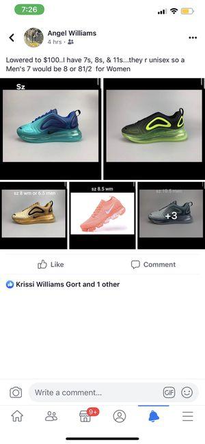 Nike's for sale sizes 7,8,8 1/2 10.5 men's 11 for Sale in Tamarac, FL