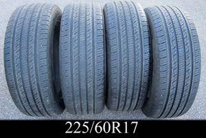 FULL SET - 4 KUMHO CRUGEN PREMIUM 225/60R17 tires CHEAP! for Sale in Warwick, RI