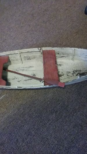 Small wooden boat for Sale in Denver, CO