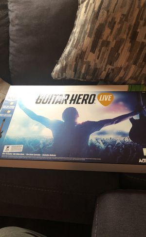 Guitar hero Xbox 360 for Sale in Gaithersburg, MD