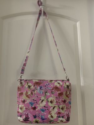 Carlos by Carlos Santana pink flower print purse for Sale in Punta Gorda, FL