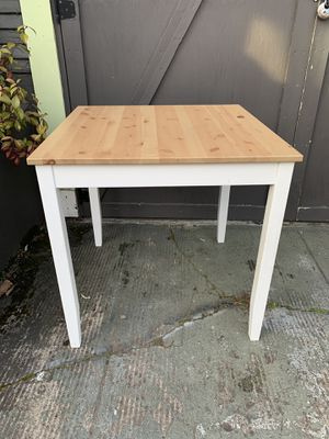 Ikea solid pine dining table for Sale in Portland, OR