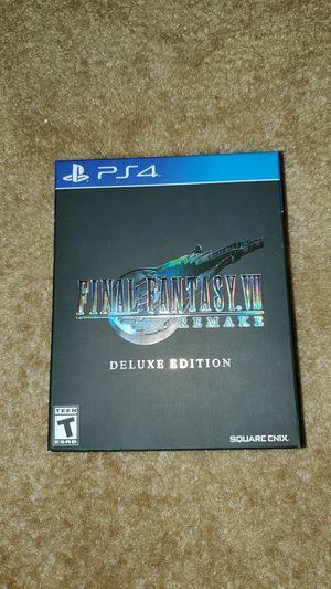 Final Fantasy 7 remake Deluxe Edition for Sale in Melbourne, FL