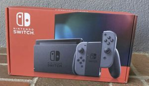 2020 Nintendo Switch Console with Gray Joy-Cons 32GB (Newest Model) Sealed in Box for Sale in Houston, TX