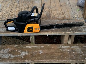 """Price firm Poulan pro pp4218a chainsaw 18"""" bar clean and well maintained chain saw for Sale in Hickory, NC"""