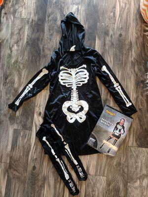 Hooded Skeleton Costume for Sale in Seminole, FL