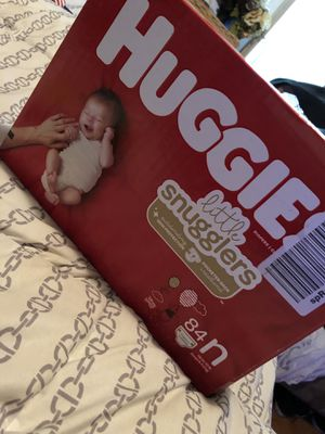Huggies diapers NEWBORN for Sale in Santa Ana, CA