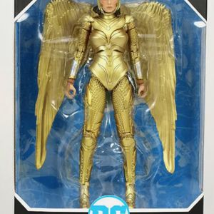 DC Multiverse Wonder Woman 1984 Golden Armor Collectible Action Figure Toy for Sale in Chicago, IL