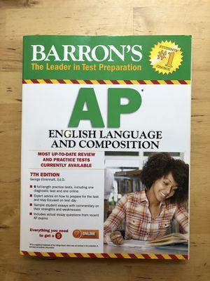 Kaplan SAT Prep Plus 2018 & Barron's AP English Language and Composition for Sale in Los Angeles, CA