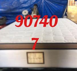 "12"" Thick foam encase pillow top mattress. Free delivery. Twin Mattress only-$199 Mattress & box spring-$235 Full Mattress only-$265 Mattress and for Sale in Seal Beach,  CA"