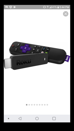 Roku streaming stick for Sale in Brooklyn Center, MN