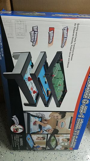 Air Hockey 3 in 1 Multi game mini table for Sale in Irvine, CA