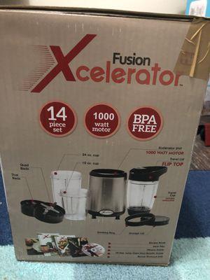 Xcelerator Fusion blender 9piece set for Sale in Smyrna, GA