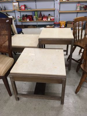 3 tables marble tops for Sale in Fuquay-Varina, NC