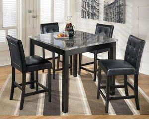 Outlet Prices! Brand New 5pc counter height kitchen table set for Sale in Virginia Beach, VA