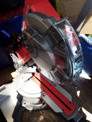 Milwaukee 10 in miter saw fuel for Sale in San Diego, CA
