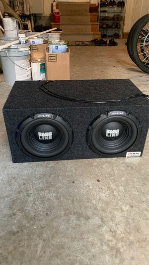 Alpine car stereo speaker for Sale in Virginia Beach, VA