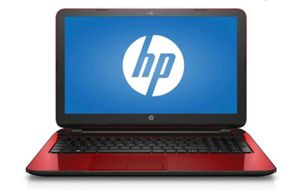 "HP Notebook 15-f272wm 15.6"" (500GB, Intel Pentium, 2.16GHz, 4GB) Laptop - Red for Sale in Greene, NY"
