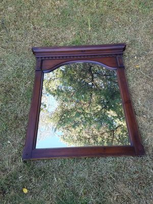 Vintage large wood mirror for Sale in Beverly Hills, CA