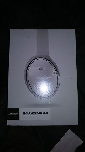 New in Box Bose Quietcomfort 35 II Noise Cancelling Wireless Bluetooth Headphones for Sale in Portland, OR