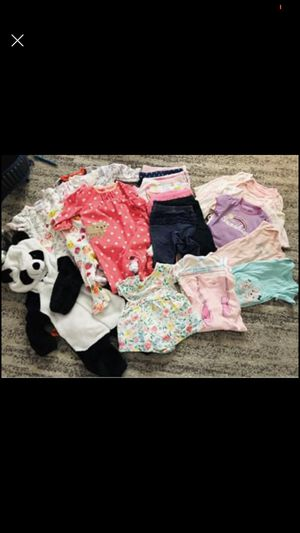 Baby Girl Bundle 6-9 months for Sale in Riverside, CA