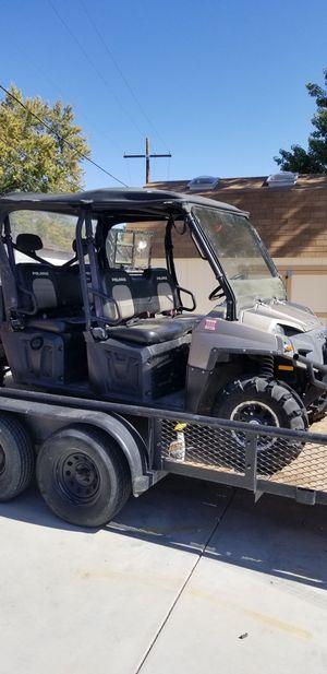 2010 Polaris ranger crew cab 6 seater for Sale in Denver, CO